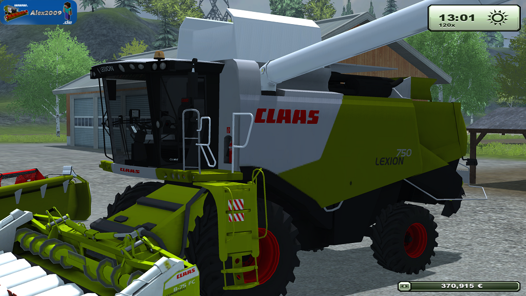 released claas lexion 750 f r ls13. Black Bedroom Furniture Sets. Home Design Ideas